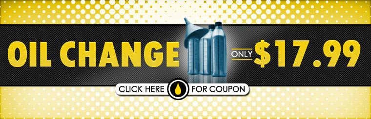Get an oil change for only $17.99! Click here for the coupon.