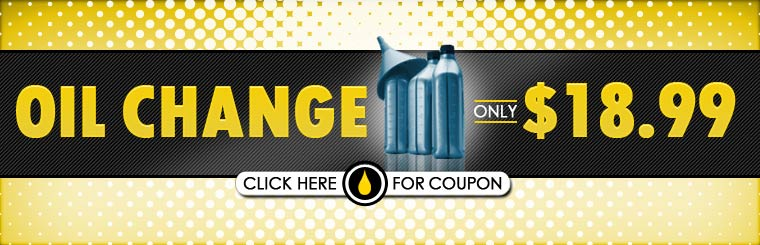Get an oil change for only $18.99! Click here for the coupon.