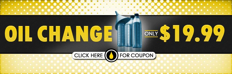 Get an oil change for only $19.99! Click here for the coupon.