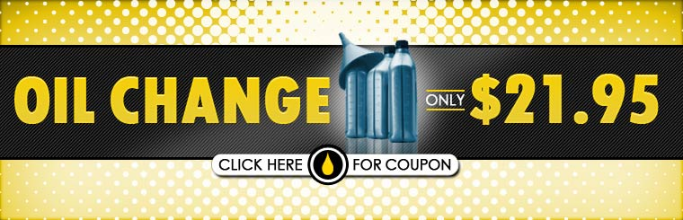 Get an oil change for only $21.95! Click here for the coupon.