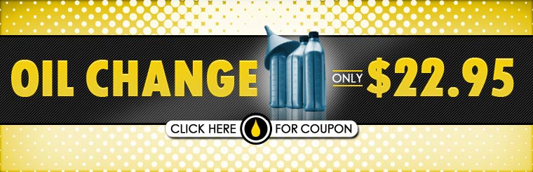 Get an oil change for only $22.95! Click here for the coupon.