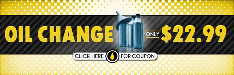 Get an oil change for only $22.99! Click here for the coupon.