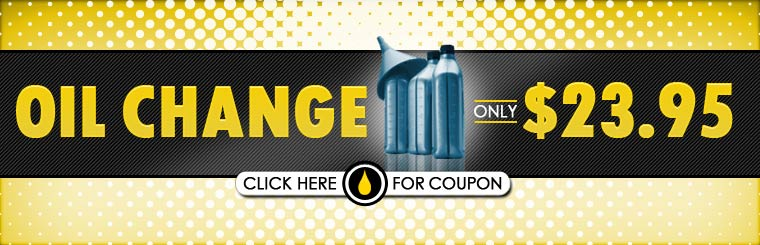 Get an oil change for only $23.95! Click here for the coupon.