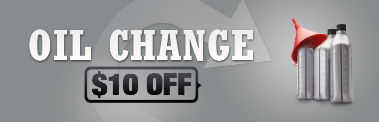 Get $10 off an oil change! Click here for the coupon.