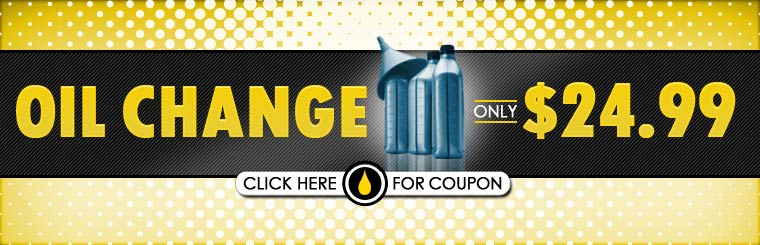 Get an oil change for only $24.99! Click here for the coupon.