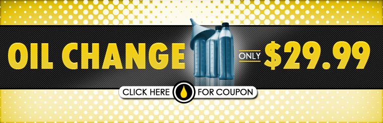 Get an oil change for only $29.99! Click here for the coupon.