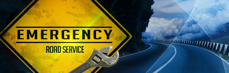 We offer emergency road service. Contact us for more information.