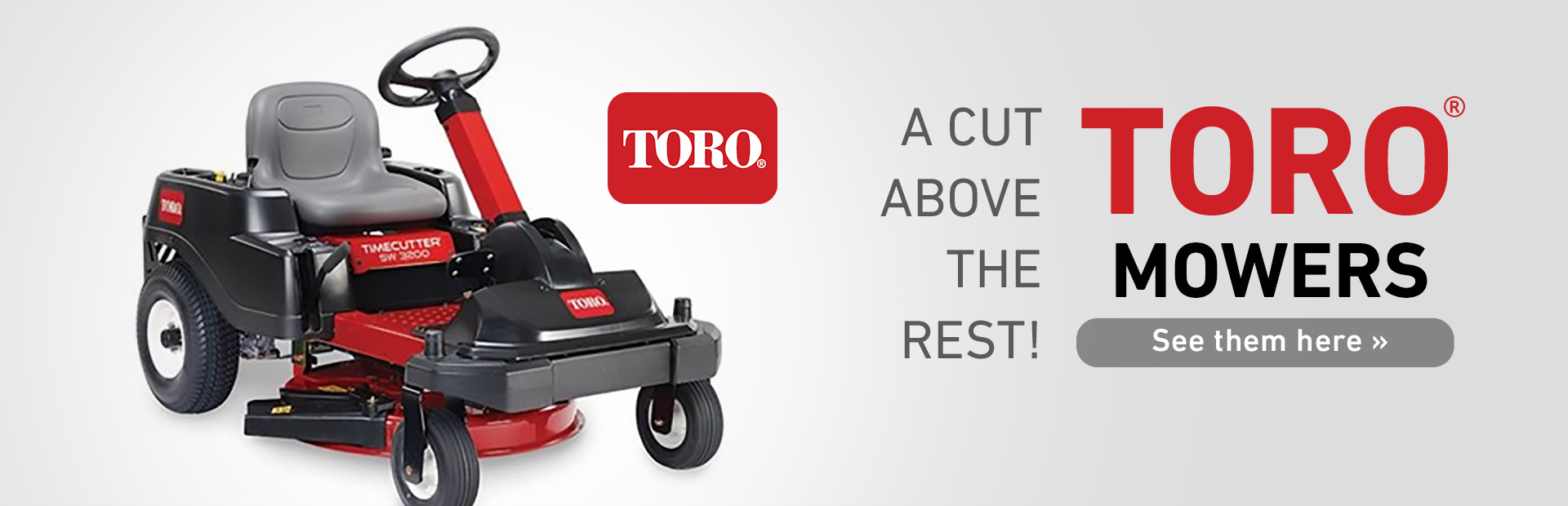 Toro Mowers: Click here to view the models.