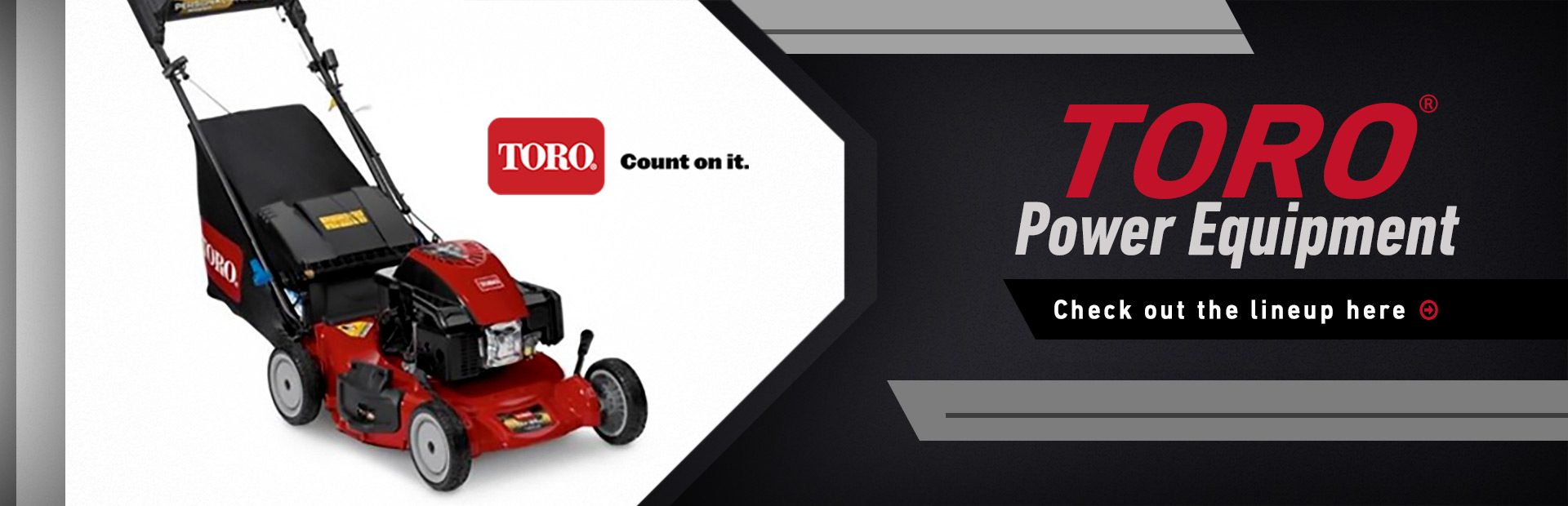 Toro Power Equipment: Click here to view the models.