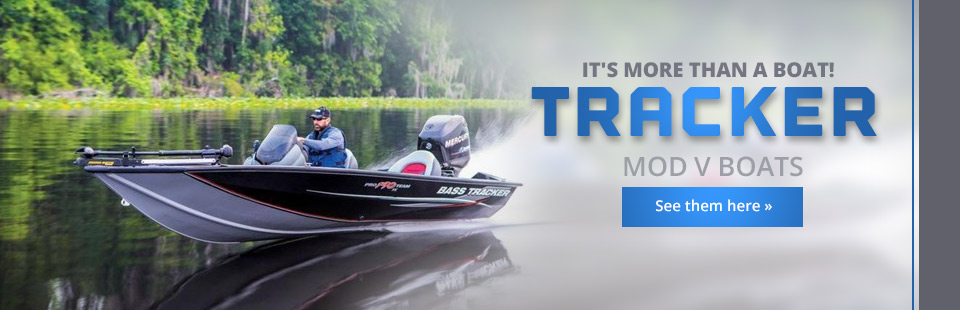 Click here to view our selection of Tracker Mod V boats!