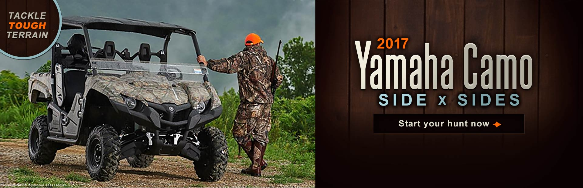 2017 Yamaha Camo Side x Sides: Click here to view the models.