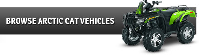 Browse Arctic Cat Vehicles