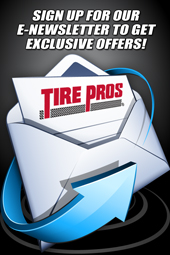 Sign up for our E-Newsletter to get exclusive offers!