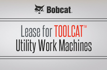 Lease for Toolcat™ Utility Work Machines