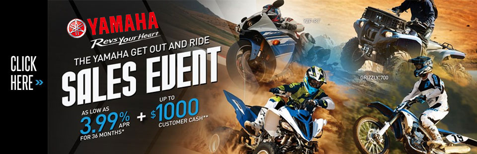 Get Out and Ride Sales Event(Sport Motorcycle/ATV)