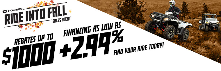 Ride Into Fall Sales Event