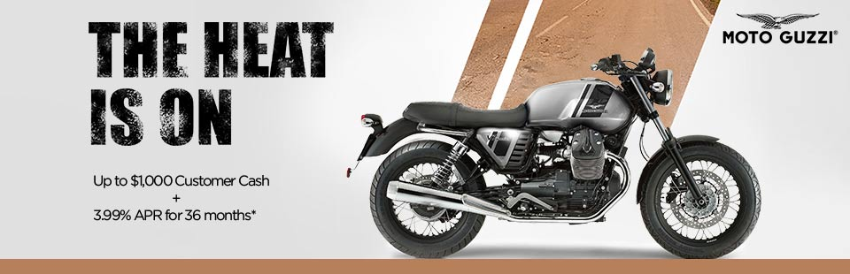 MOTO GUZZI V7 SUMMER PROMOTION