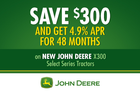 Save $300 AND Get 4.9% APR for 48 Months
