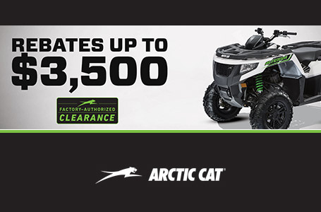 Factory Authorized Clearance on ATVs