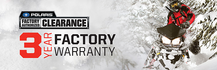 Polaris Factory Authorized Clearance (Snowmobile)