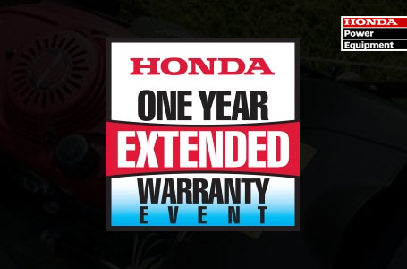 One Year Extended Warranty Event