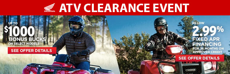 ATV Clearance Event