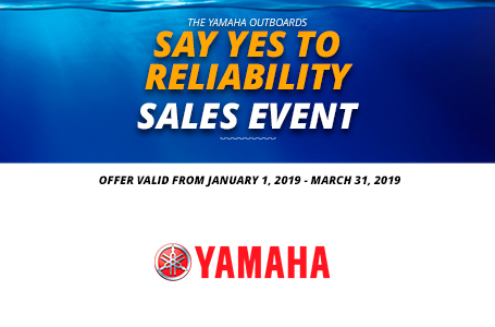 Say Yes To Reliability Sales Event