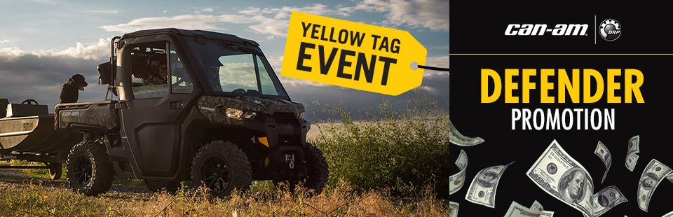 Yellow Tag Event: Defender Promotion