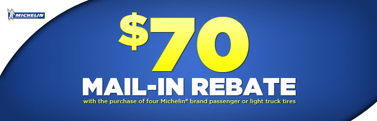 $70 Mail-In Rebate