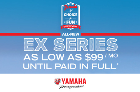 All-New Ex Series As Low As $99/Month Until Paid*