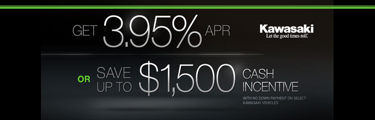 Get 3.95% APR or Save up to $1,500 Cash Incentive
