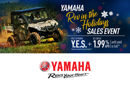 Rev in the Holidays Sales Event (Utility SxS)