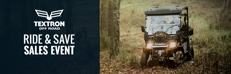 Textron Off Road: Ride and Save Sales Event