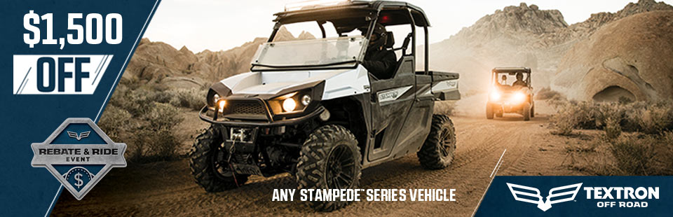 Textron Off Road: Rebate & Ride Event