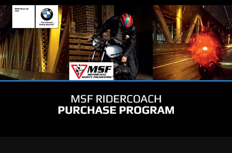 MSF RiderCoach Purchase Program