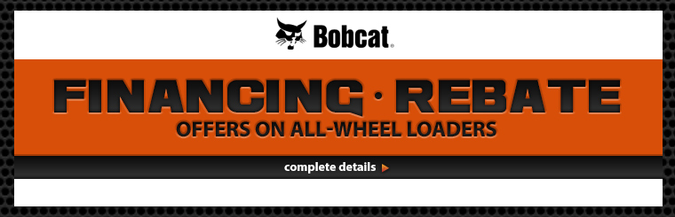 Financing/Rebate Offers on All-Wheel Loaders