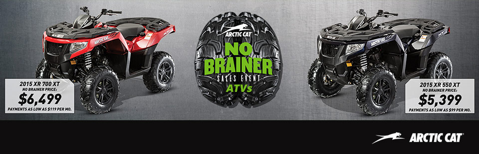 Arctic Cat: No Brainer Sales Event (ATV)