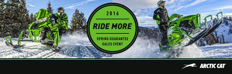2016 Ride More Spring Guarantee Sales Event