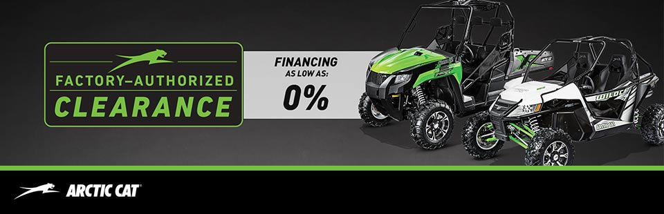 Factory Authorized Clearance - SxS