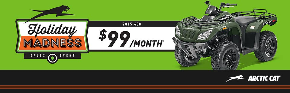 Holiday Madness Sales Event - ATV
