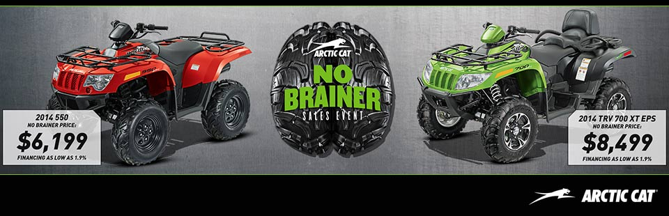 No Brainer Sales Event - ATV