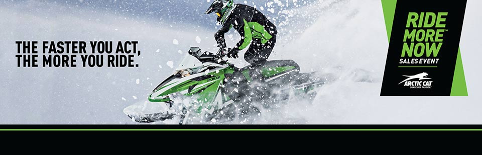Ride More Now™ Sales Event