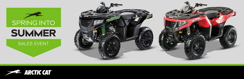 Spring Into Summer Sales Event - ATV