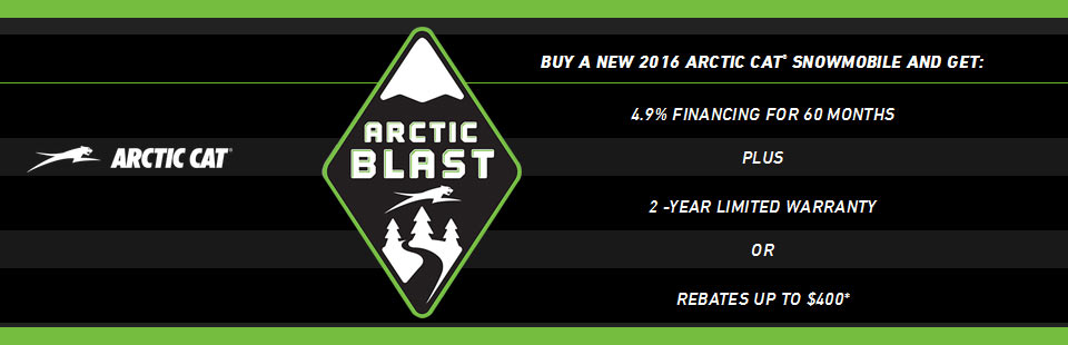 Arctic Blast Sales Event
