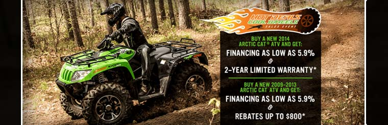 Hot Deals Cool Wheels Sales Event - ATV
