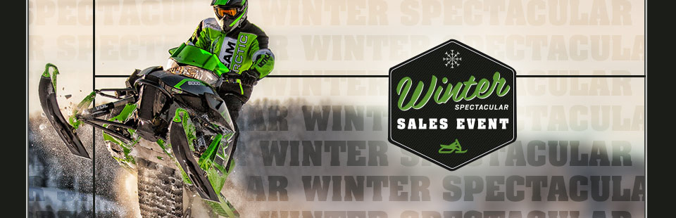 Winter Spectacular Sales Event