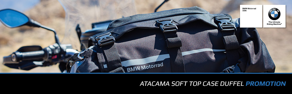 BMW: Atacama Soft Top Case Duffel Promotion