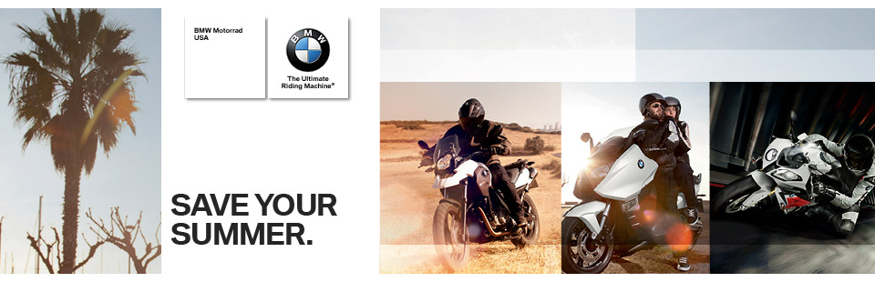 Savings up to $1500 on select new BMW motorcycles