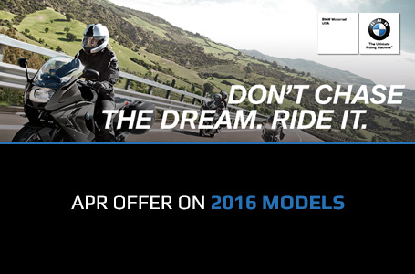 APR Offer on 2016 Models