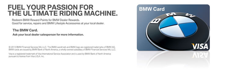 The BMW Platinum Visa Card
